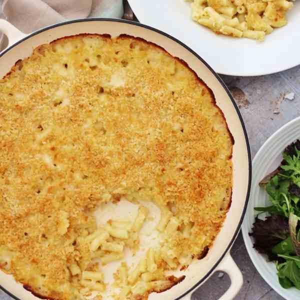 Three Cheese Macaroni Cheese