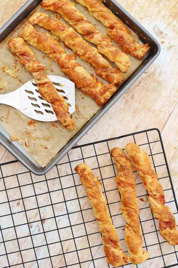 Bacon and Cheese Straws