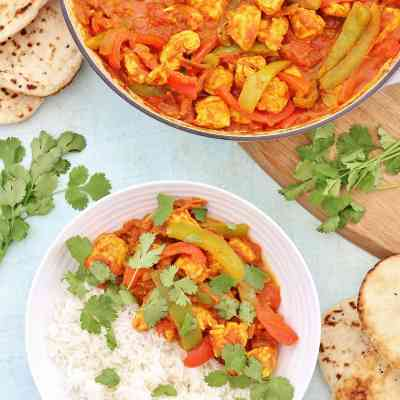 Easy Chicken Jalfrezi