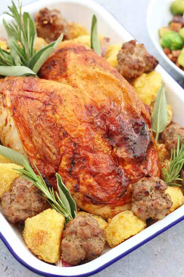 Easy Roast Turkey Crown