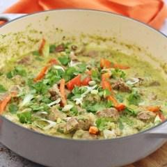 Lamb Thai Green Curry