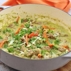 Lamb Thai Green Curry