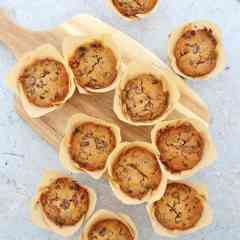 Easy Christmas Cake Muffins