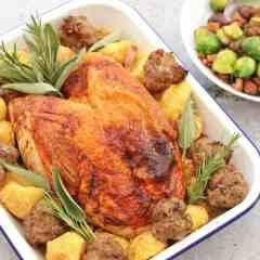 Easy Roast Turkey Crown Recipe