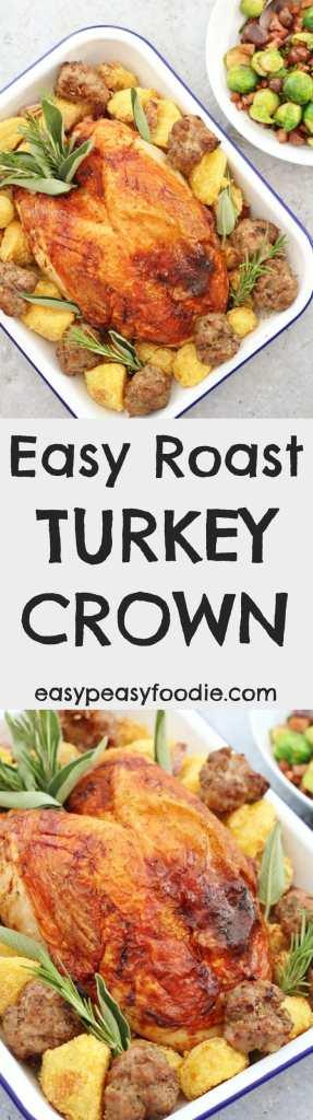 Easy Roast Turkey Crown
