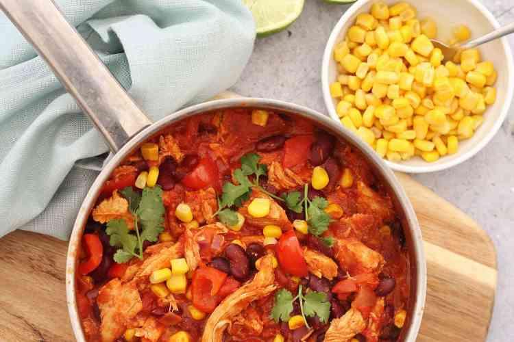 Leftover Turkey Chilli Con Carne