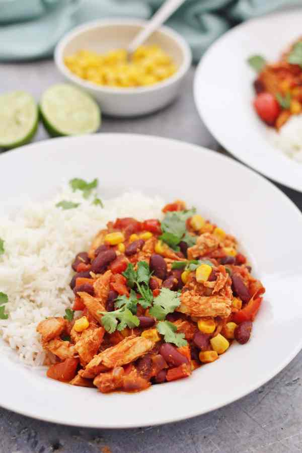 Leftover Turkey Chilli Con Carne