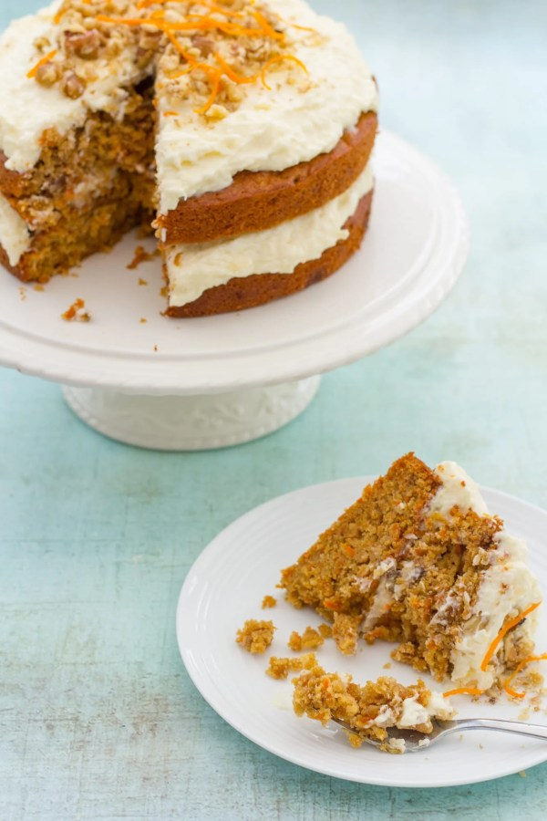 Coconut Pineapple Carrot Cake