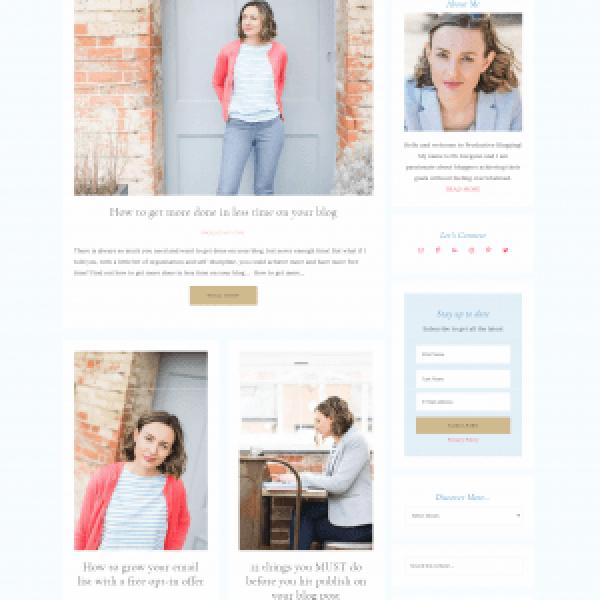 Productive Blogging Website