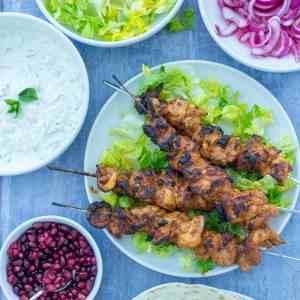 Chicken Shish Kebabs