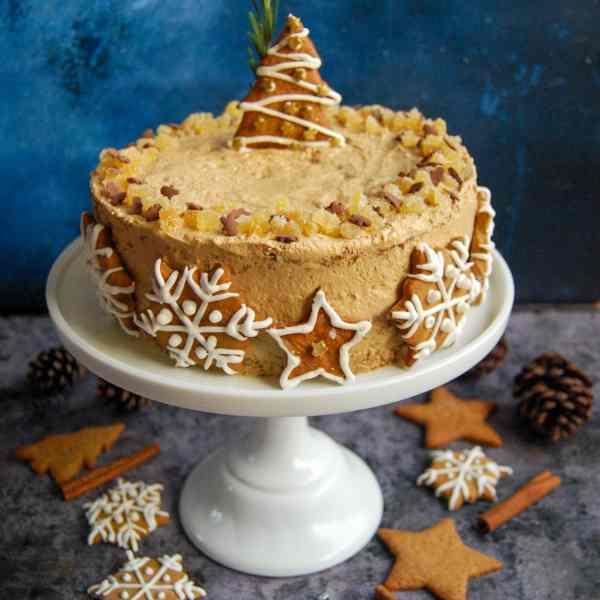 Gingerbread Latte Cake
