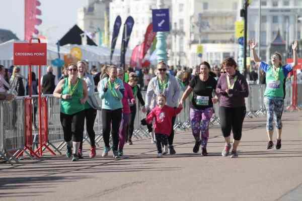 Brighton Half Marathon Group Shot