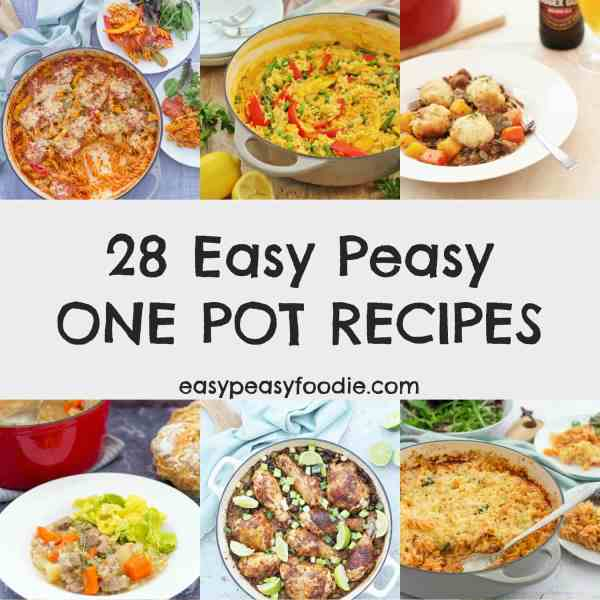 28 Easy Peasy One Pot Recipes