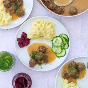 Easy Homemade Swedish Meatballs (IKEA Copycat)