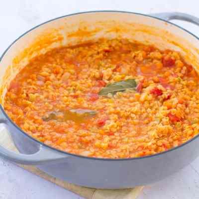 Easy Lentil Bolognese (Vegan)