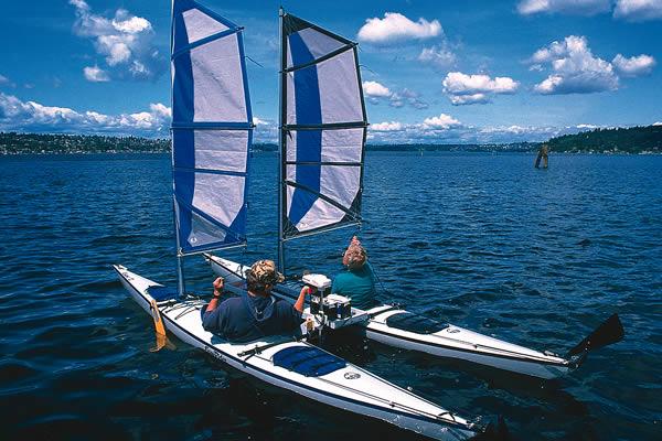 Image result for kayak catamaran