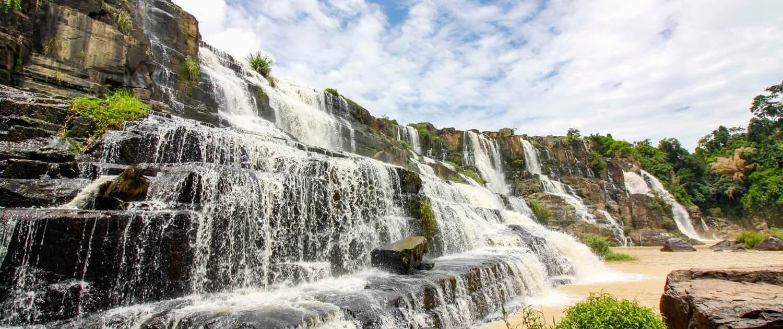 easy rider dalat waterfalls pongour
