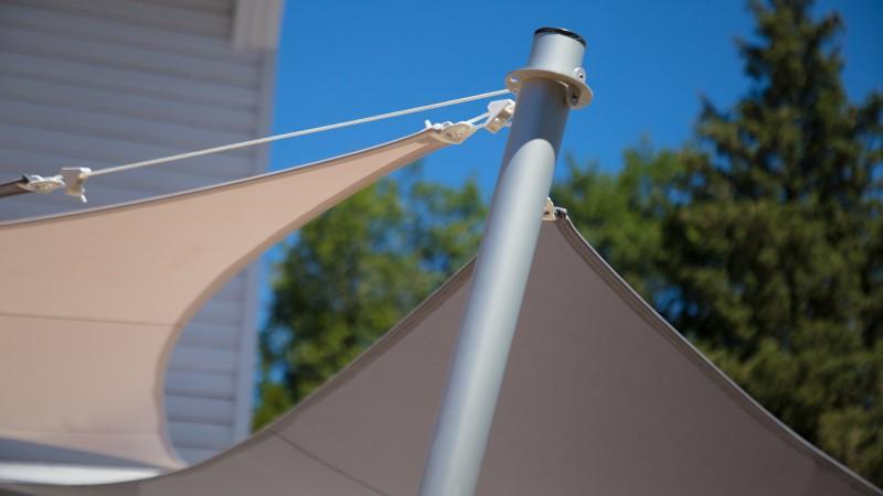 mat et ancrage pour voile easy sail