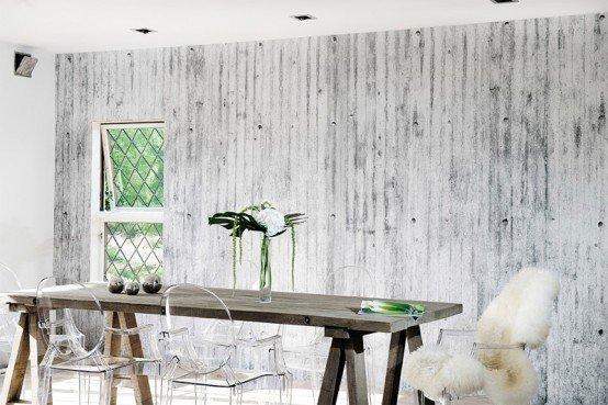 Carta da parati dal design moderno per rinnovare casa for Carta da parati per soggiorno moderno