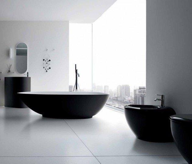Bagno Moderno Bianco E Nero.Rinnovare Il Bagno Idee Bagno Moderno Design