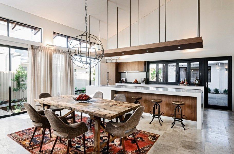 Sala Da Pranzo Rustica : Interior design esempi pratici per arredare casa in stile moderno