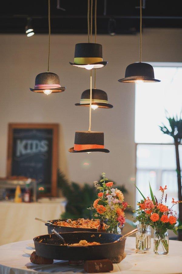 Beautiful cappelli come lampadari utili oggetti per la for Oggetti per la casa originali