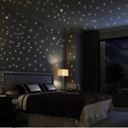 adesivi murali fluorescenti cielo stellato