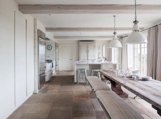 Guida definitiva ai pavimenti per cucina idee e materiali - Pavimento per cucina ...