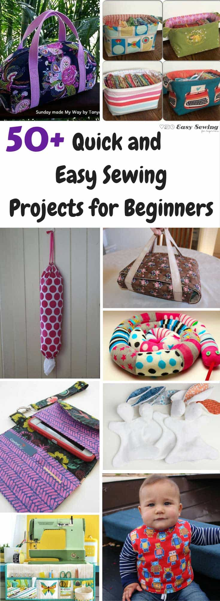 50 Quick And Easy Sewing Projects For Beginners  Easy