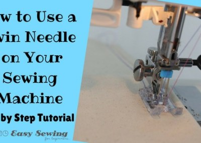 How to Use a Twin Needle [Video Tutorial]
