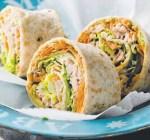 Tuna & Salad Rolls - Healthy Snack Recipes