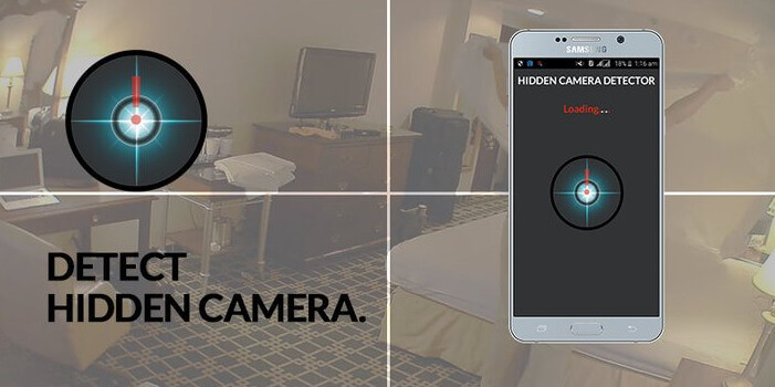 Hidden Camera Detector App