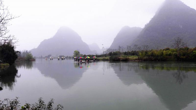 Yangshuo hiking adventure