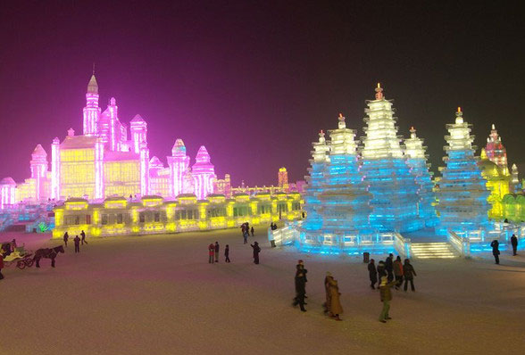 Ice and Snow World, Harbin Tours