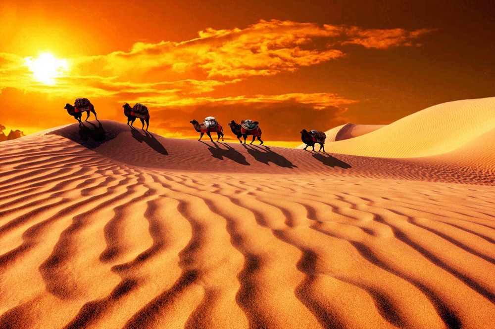 Desert of Silk Road