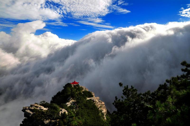 Most beautiful mountains in China