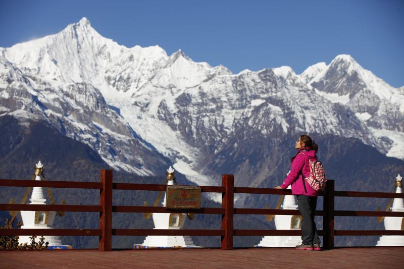 China mountain peaks trips