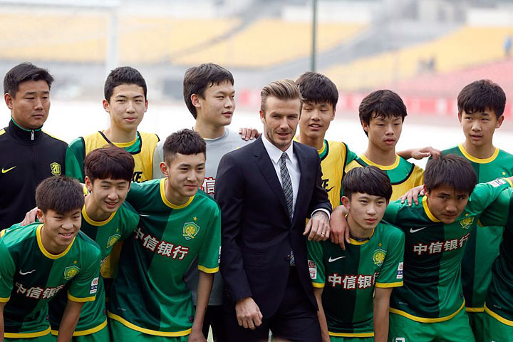David Beckham's China Tour