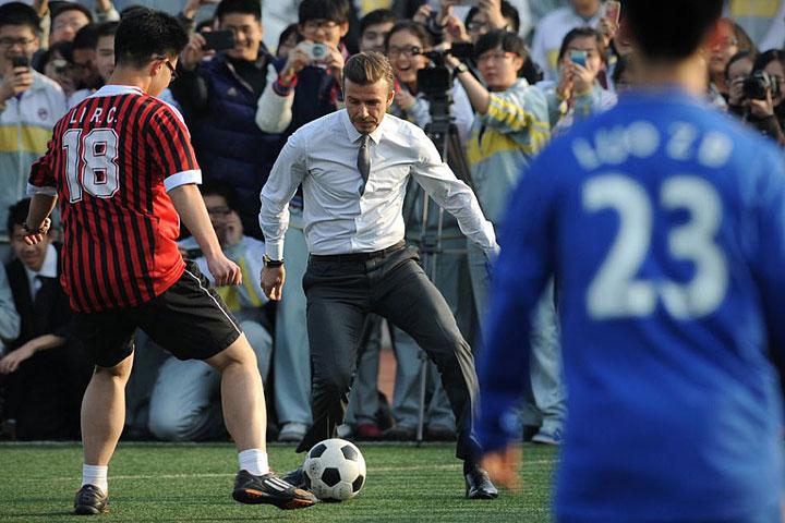 Beckham in Beijing
