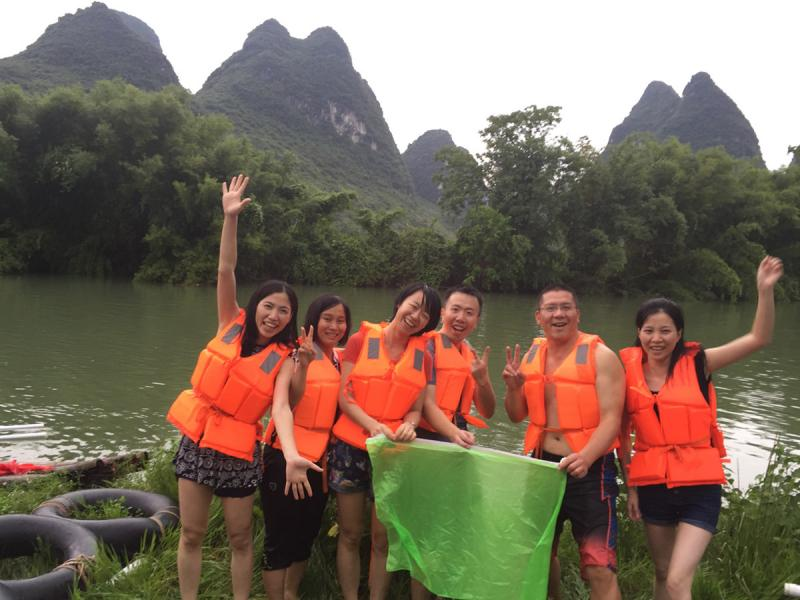 China Yangshuo discovery by outdoor sports
