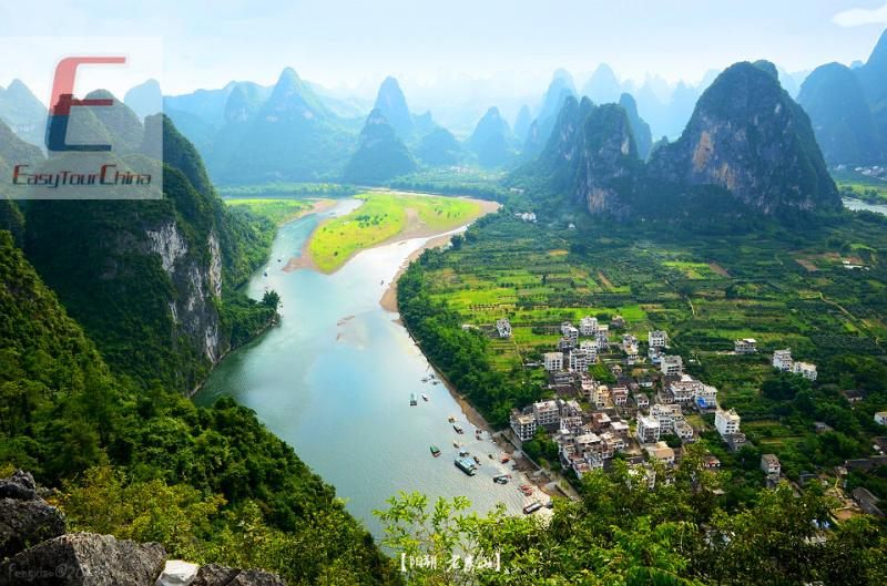 High speed train to Yangshuo, Guilin