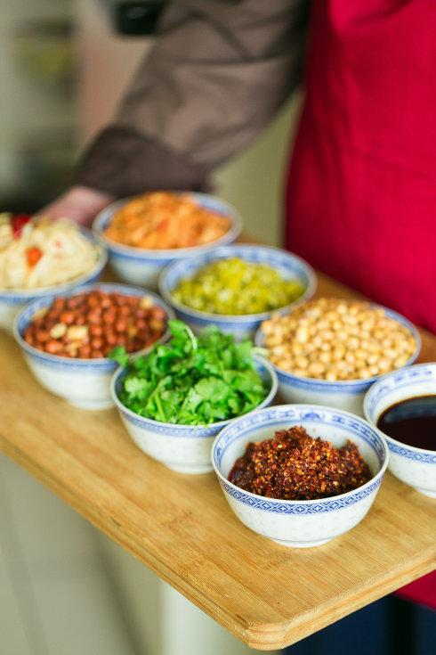 Guilin Rice Nooles Side dishes