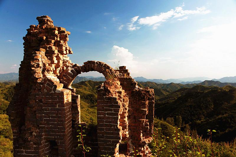 Relics of Great Wall China