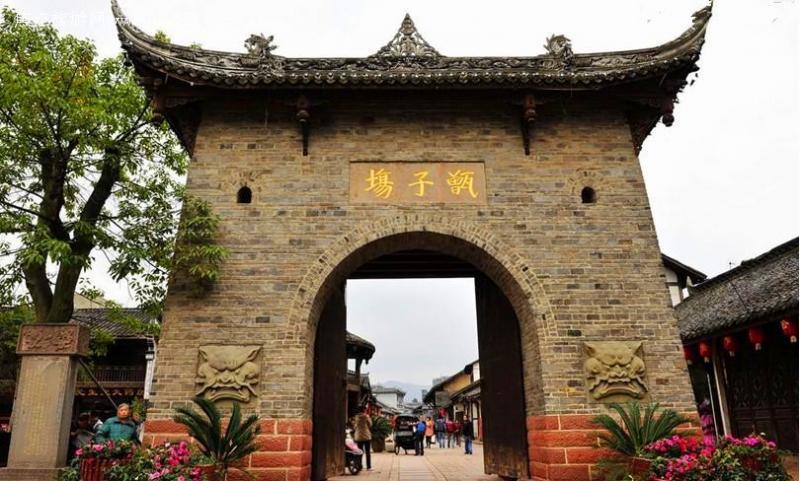 Old towns around Chengdu