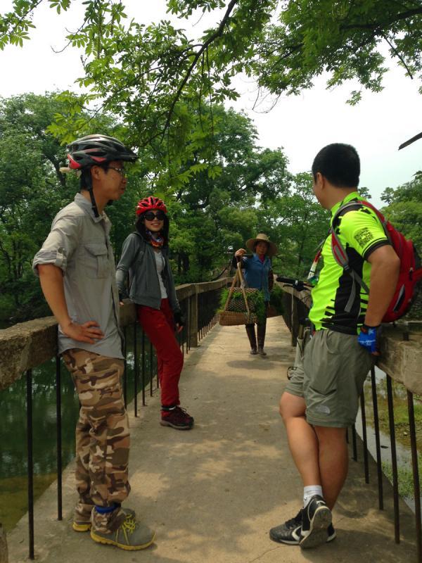 Guilin village cycling