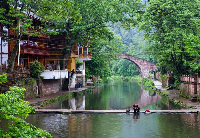 China ancient town tours