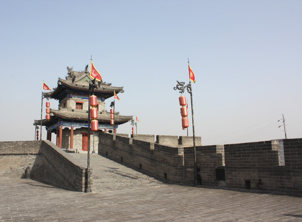Ancient City Wall, Xian