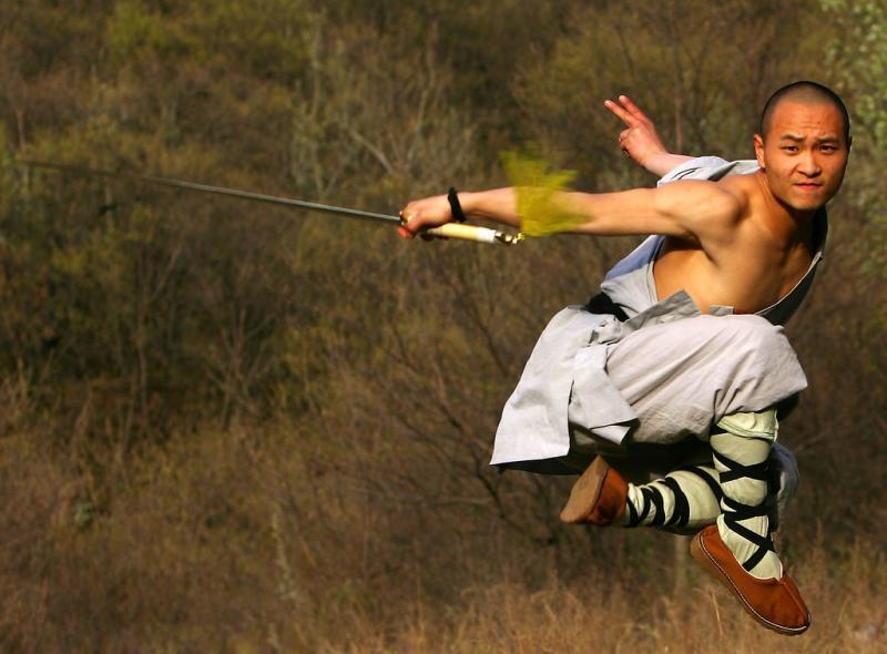 Learn wushu in Shaolin China