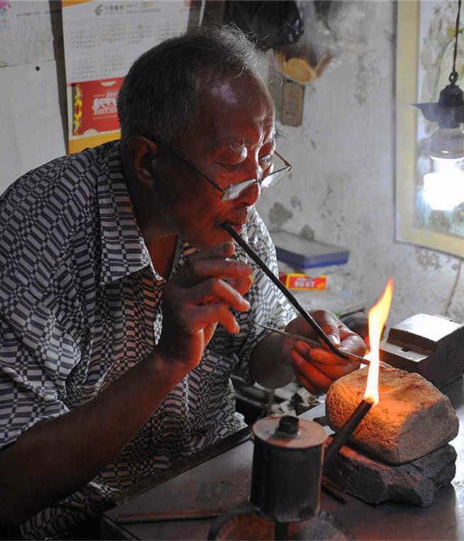 China silversmith
