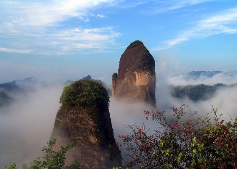 China UNESCO Danxia Landform